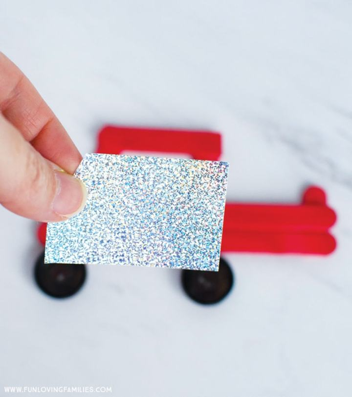 how to make the truck ornament