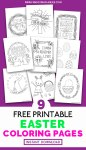 Free printable Easter coloring pages you can download instantly