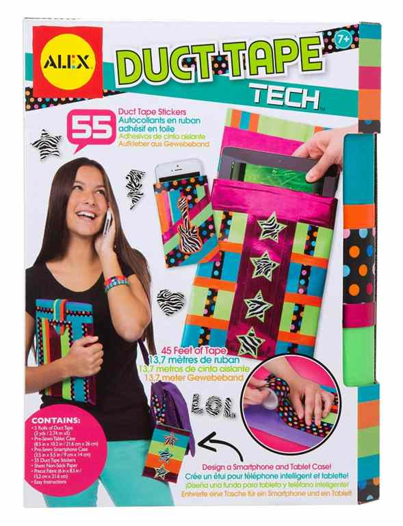 duct tape craft kit for making phone and tablet covers