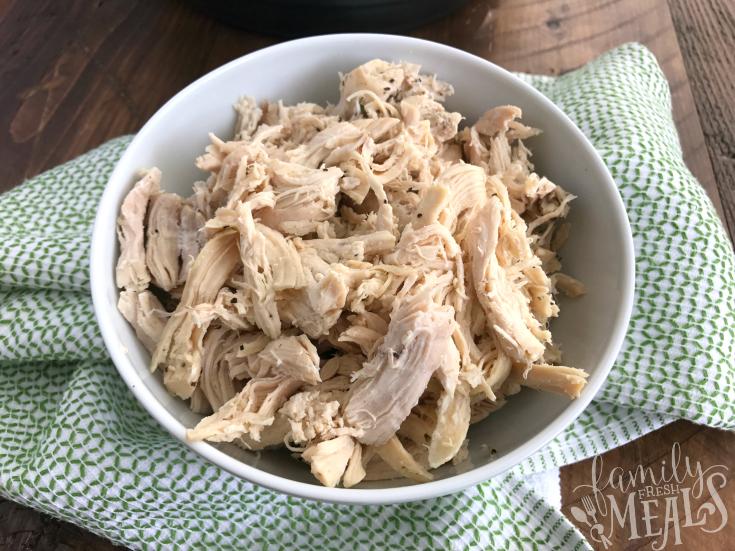 shredded chicken instant pot recipe