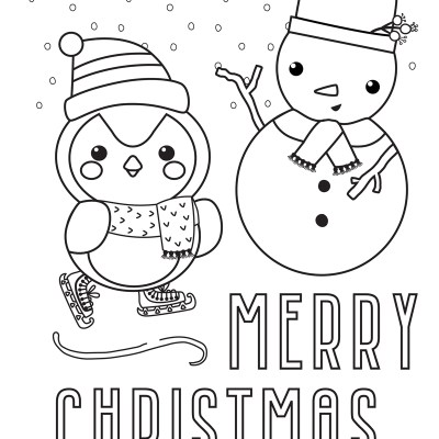 Christmas Coloring Pages (Free Printables)