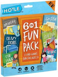 Pack of 6 card games for preschoolers