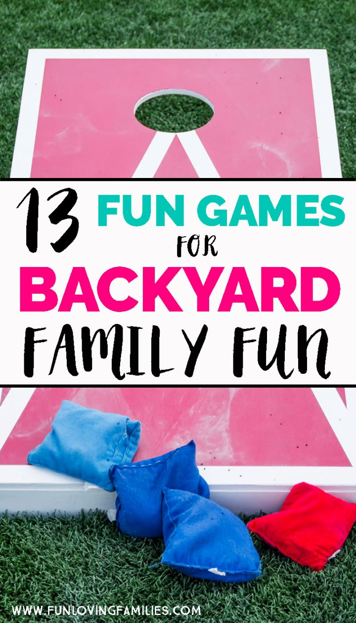 fun games for families to play in the yard