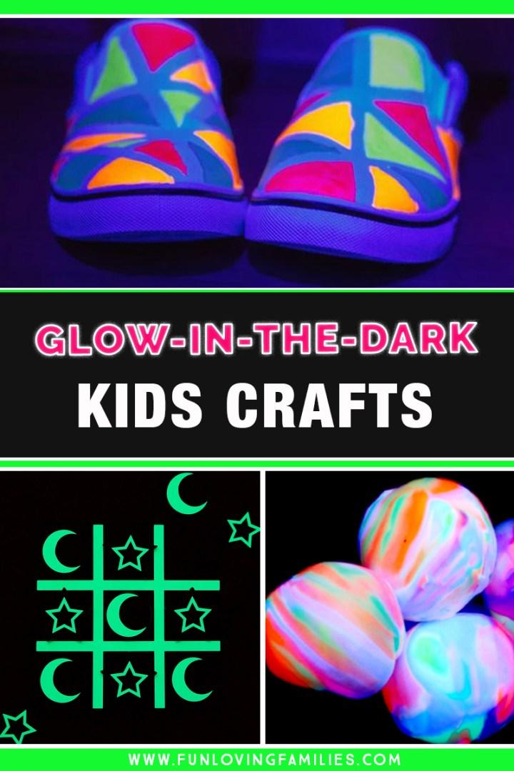 glowing kids crafts