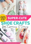 DIY shoe designs in different styles