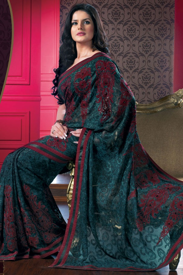 zarine-khan-saree-collection- (6)