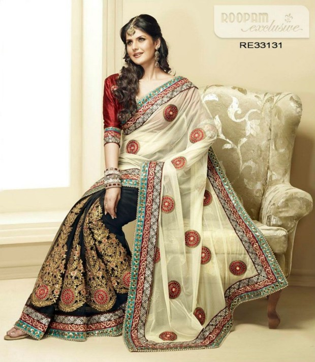 zarine-khan-exclusive-roopam-saree-collection- (1)