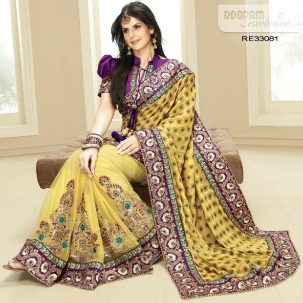 zarine-khan-exclusive-roopam-saree-collection- (5)