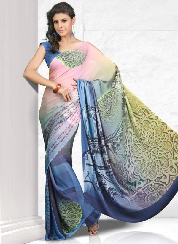 printed-saree-designs-for-summer- (1)