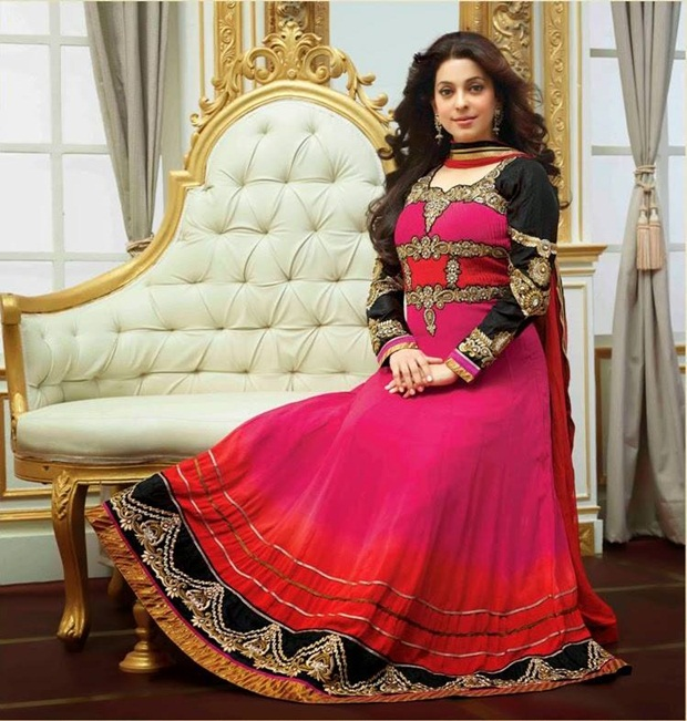 juhi-chawla-indian-party-wear-designer-dresses- (10)
