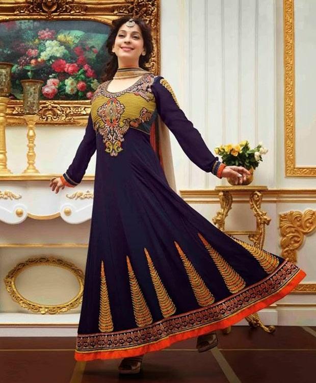 juhi-chawla-indian-party-wear-designer-dresses- (7)