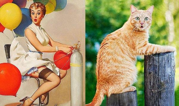 cats-imitate-the-girls- (11)