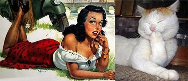 cats-imitate-the-girls- (16)