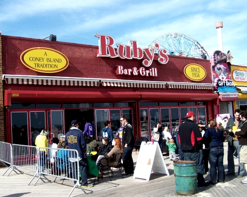 Rubys Restaurant Seating