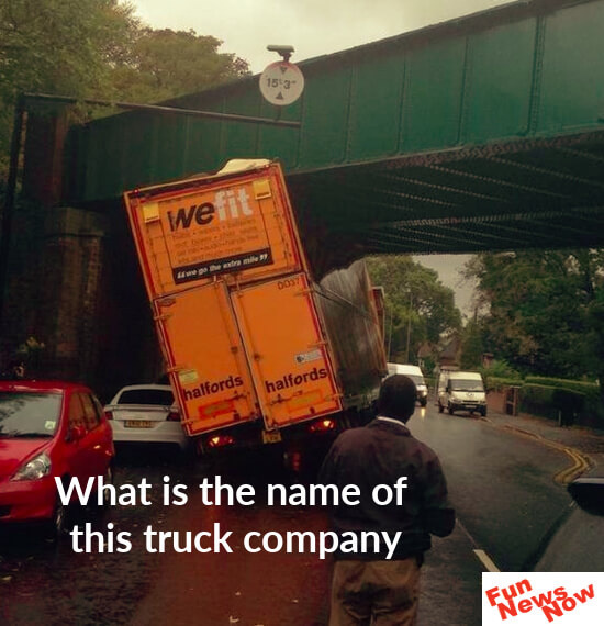 Trucking Company Should Change It's Name