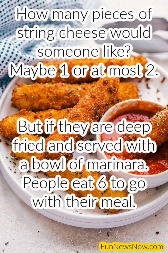 Meme – How Many Cheese Sticks Do People Eat