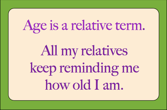 Funny Jokes 70 Year Olds
