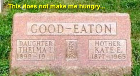 Funny Tombstone Sayings