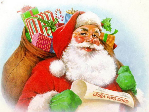 merry chrismas, wish merry cristmas, santa claus, uniq merry chistmass picture,santa clause, santa clause witih present