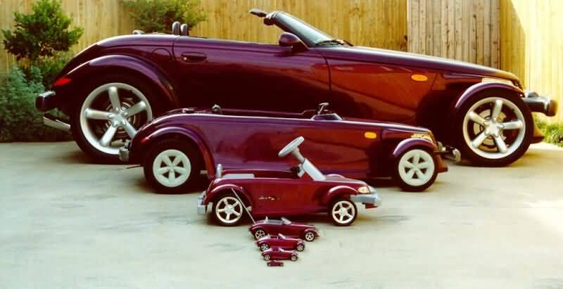 cars of different sizes
