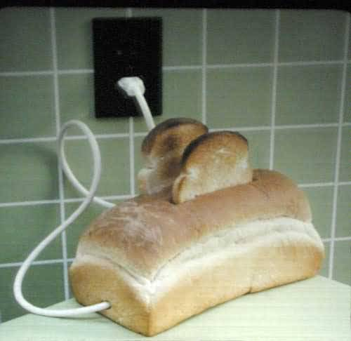 Toasts and toaster