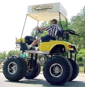 Funny Golf Carts!
