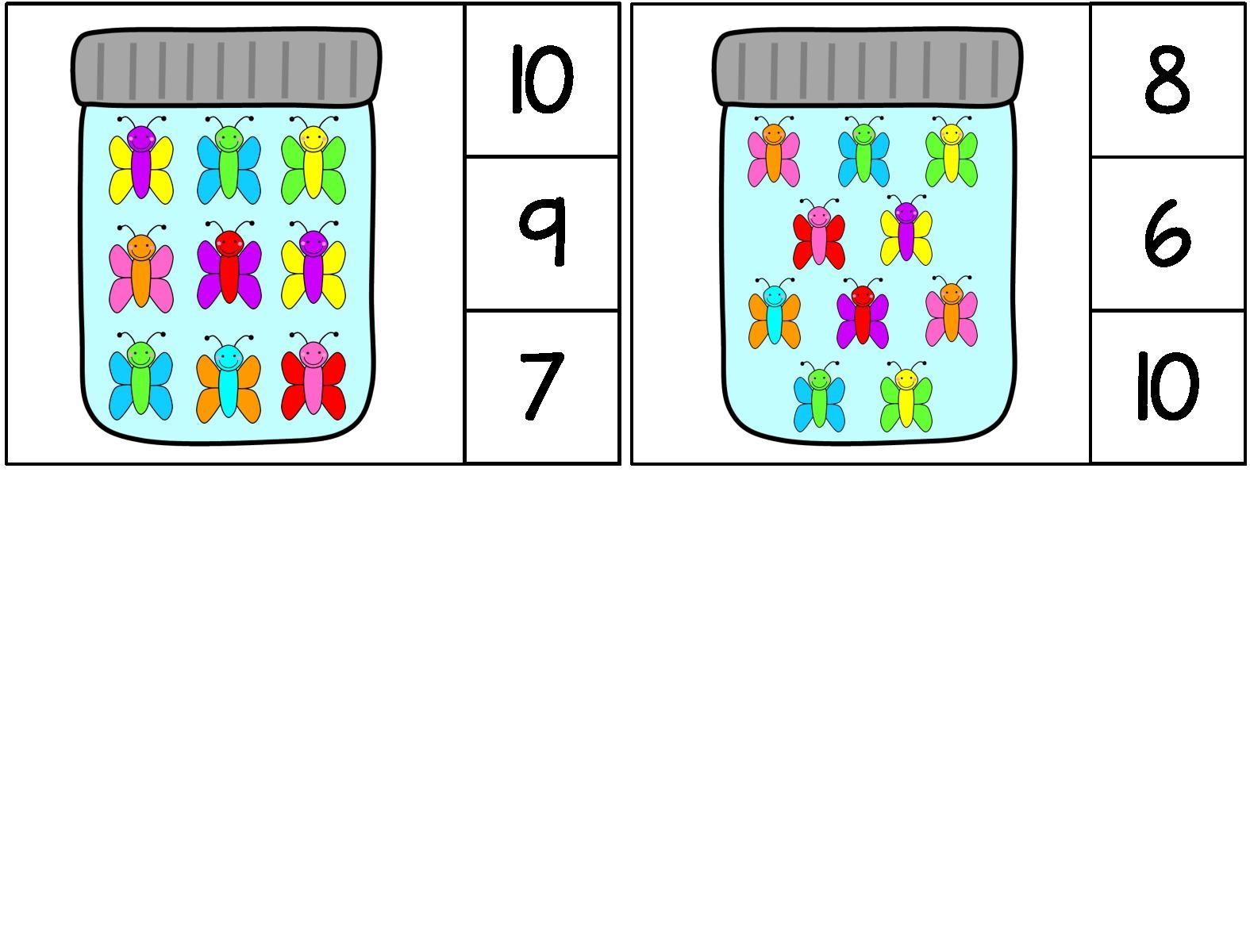 Butterfly Math Activities Preschool And Homeschool