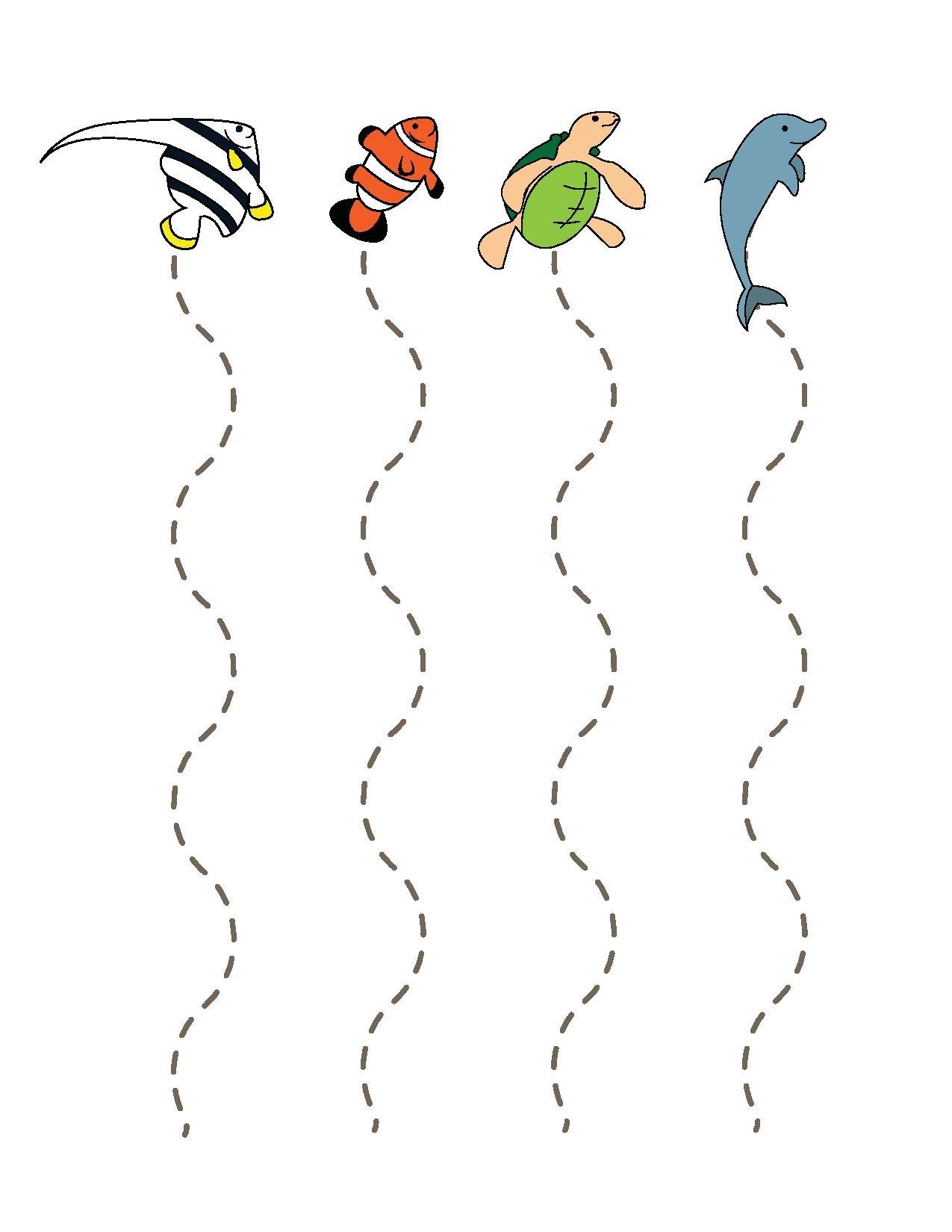 Ocean Animals Cutting Funnycrafts