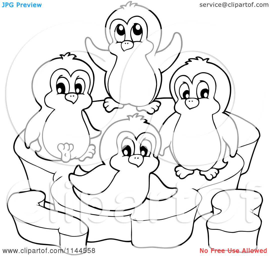 Penguin Coloring Pages Fun 34 Preschool And Homeschool