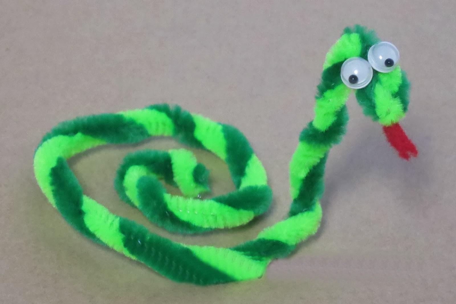 Pipe Cleaner Snake Preschool And Homeschool