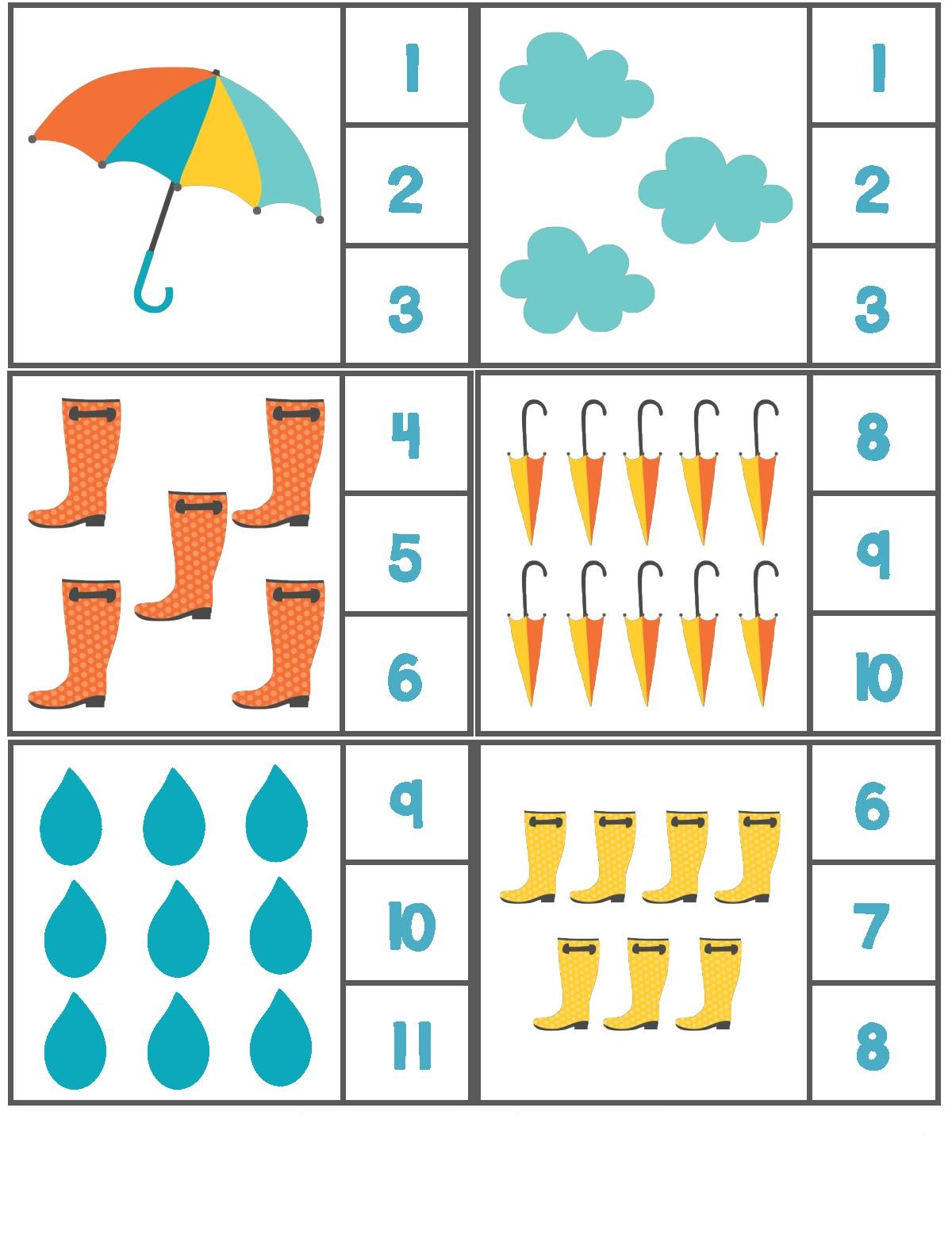 7 Free Worksheet On Seasons For Kindergarten