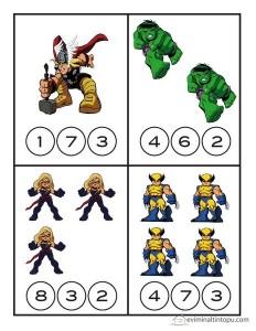 Superheroes Worksheets For Kds The Best Crafts