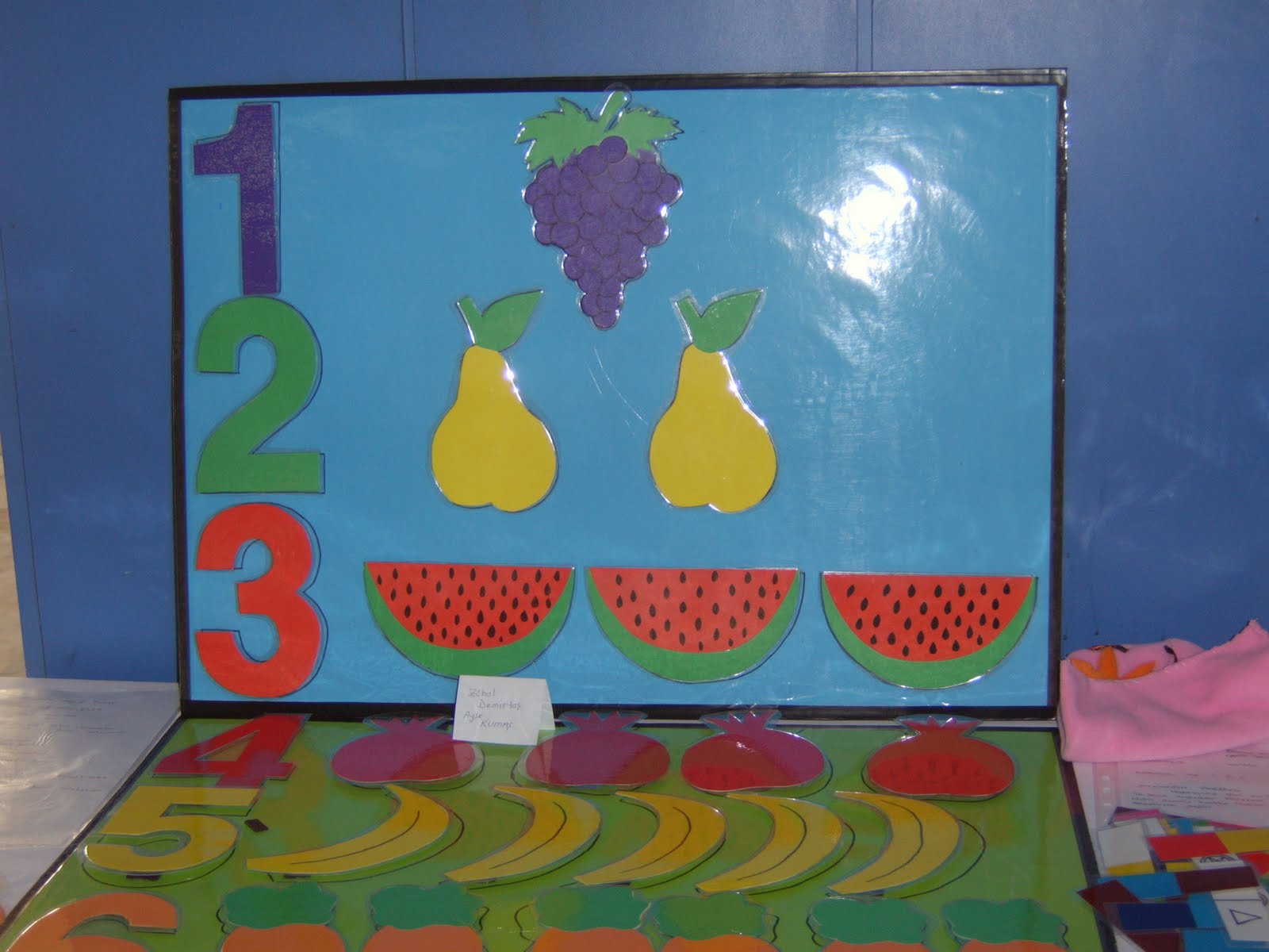 Classroom Wall Number Activities For Preschool 23