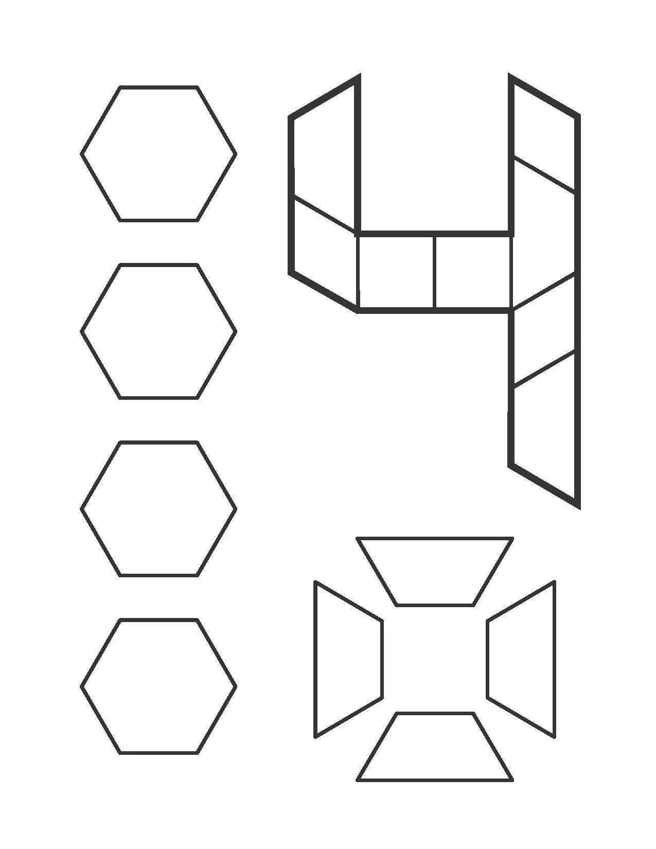 Number Pattern Block Cards For Kids 8 Funnycrafts