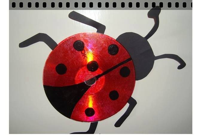 Ladybug Cd Craft Ideas Preschool And Homeschool