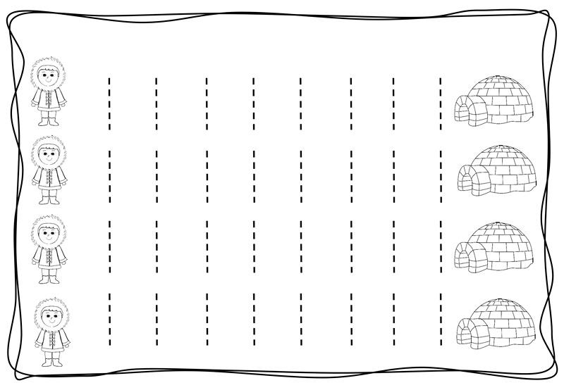 Vertical Tracing Line Sheets 11 Preschool And Homeschool