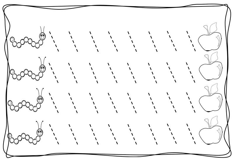 Drawing Lines For Preschool : Preschool drawing lines