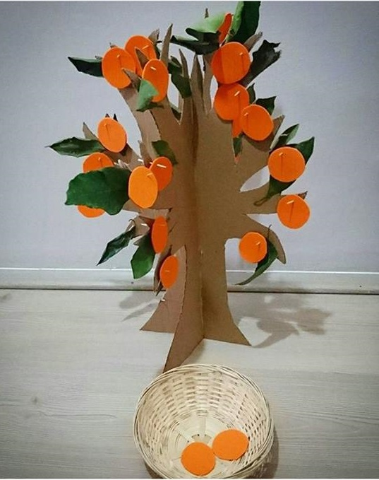 Orange Craft For Preschool Funny Crafts