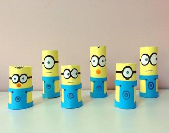 Minions Craft Ideas Funny Crafts
