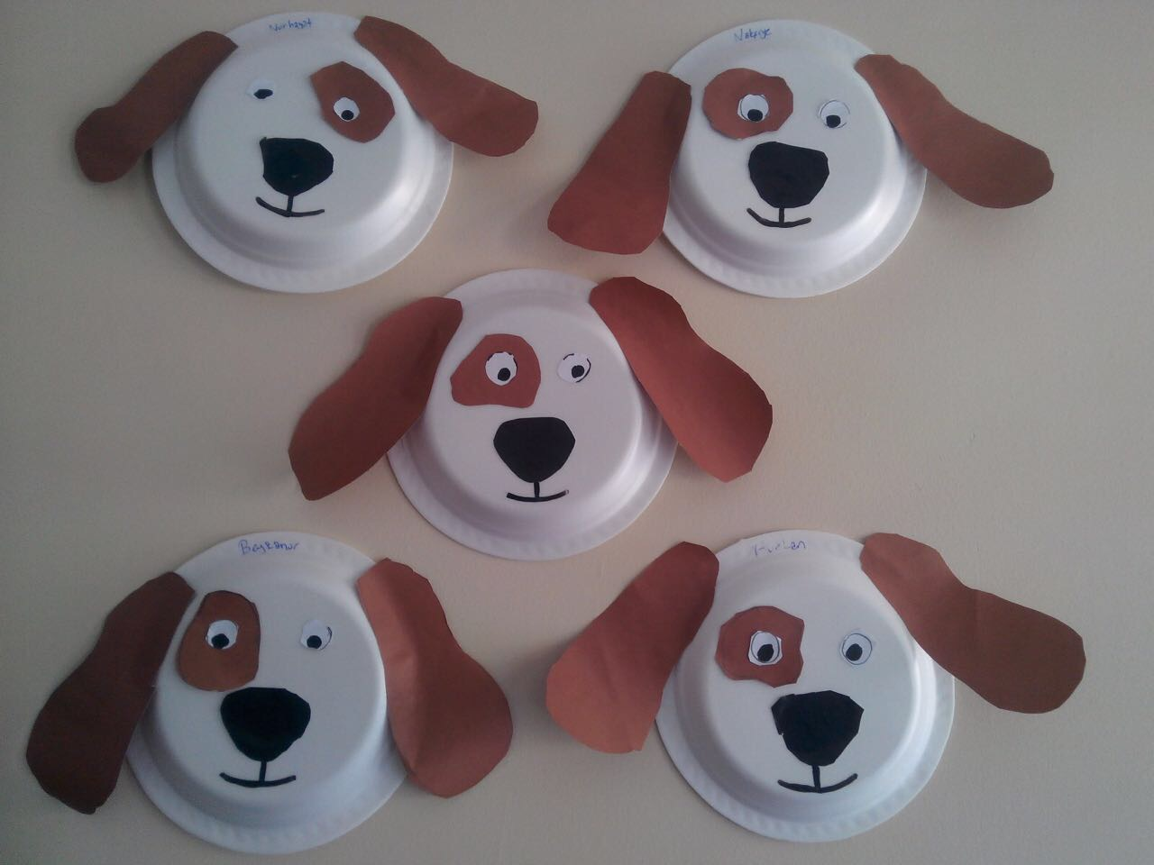 Dog Craft With Paper Plate Preschool And Homeschool