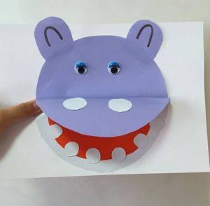 Hippo Craft For Preschool Funnycrafts