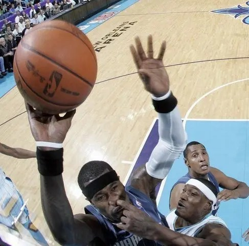 NBA Picking booger in player's nose
