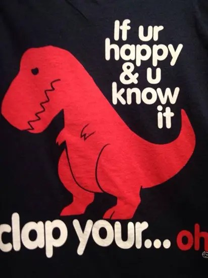 If you're happy and you know it clap your, eh…