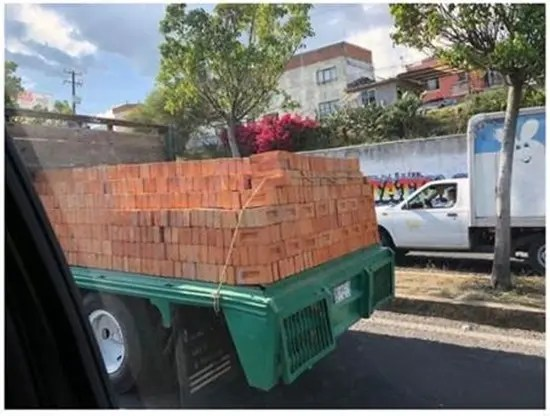 Well secured load.
