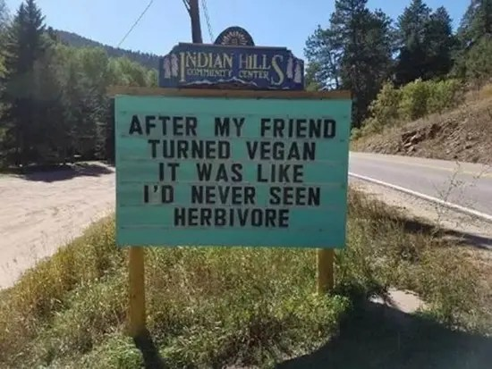After my friend truned vegan it was like i'd never seen herbivore