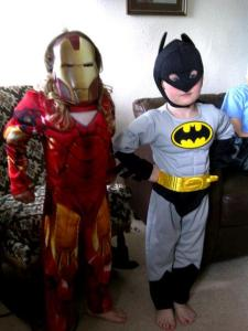 IronIronManWoman and BatBoy - Peacekeeping and Conflict Resolution Lessons At Home