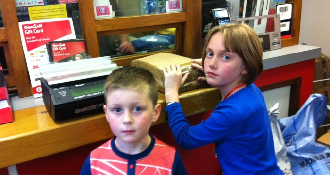 Longing for School (Kicking Off At The Post Office!)