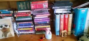 A small sample of the big cassette collection...