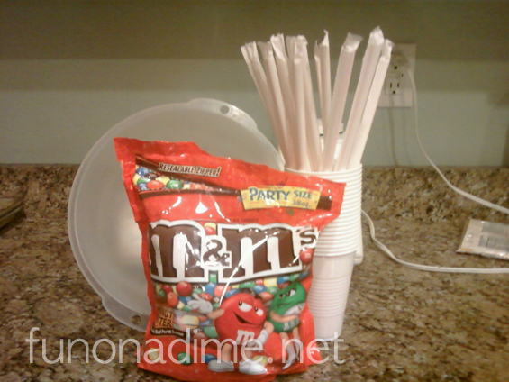 M&M Straw Game