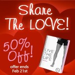 Live the Life Discount! I'm sharing the love!!!